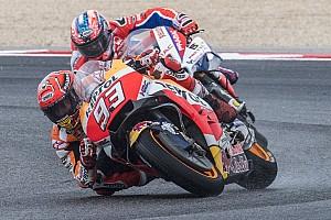 MotoGP Самое интересное Как Маркес со всеми в кошки-мышки играл. Главные события ГП Сан-Марино