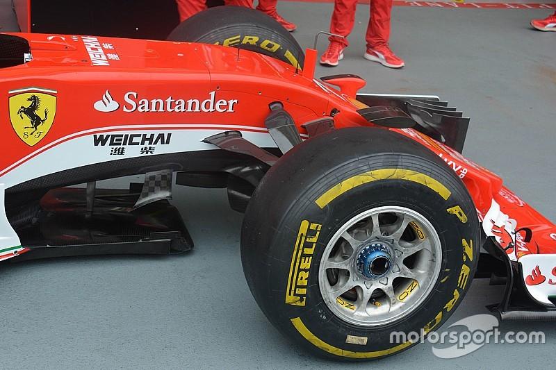 """Технический брифинг: """"плавники"""" Ferrari SF16-H"""