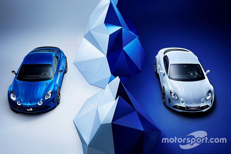 Sept modèles Alpine s'exposent à Rétromobile