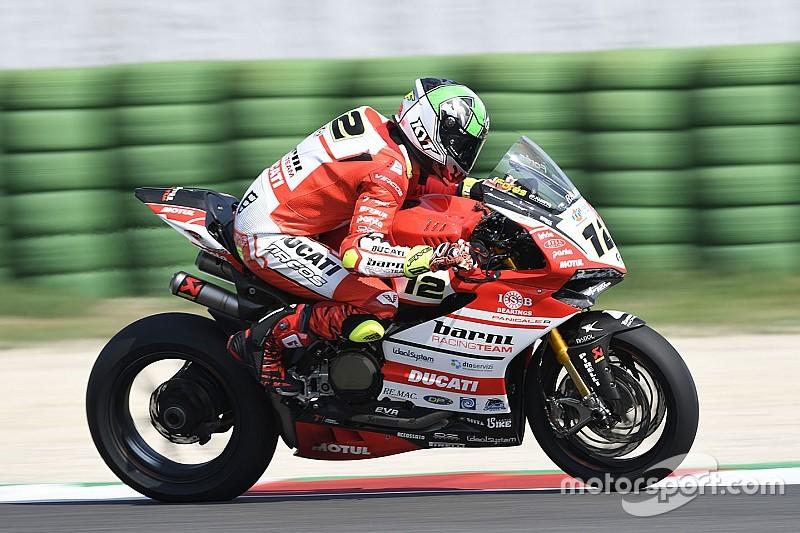 A Portimao il Ducati Barni Racing Team ha provato novità d'assetto per la Panigale