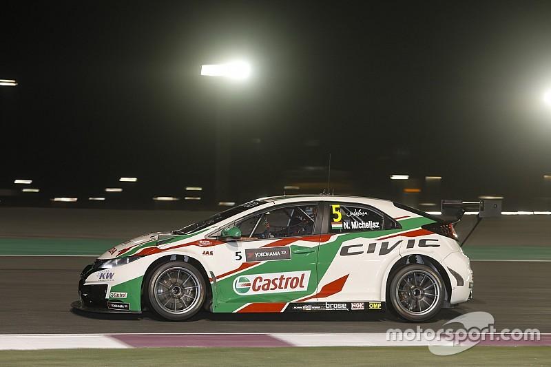 Qatar WTCC: Michelisz breaks lap record in Thursday practice