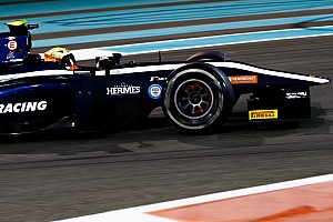 FIA F2 Laporan tes Tes F2 Abu Dhabi: Maini pimpin hari kedua, Gelael P17