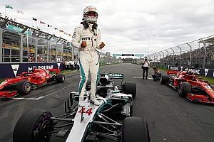 Avustralya GP: Sezonun ilk pole pozisyonu Hamilton'ın, Raikkonen 2.!