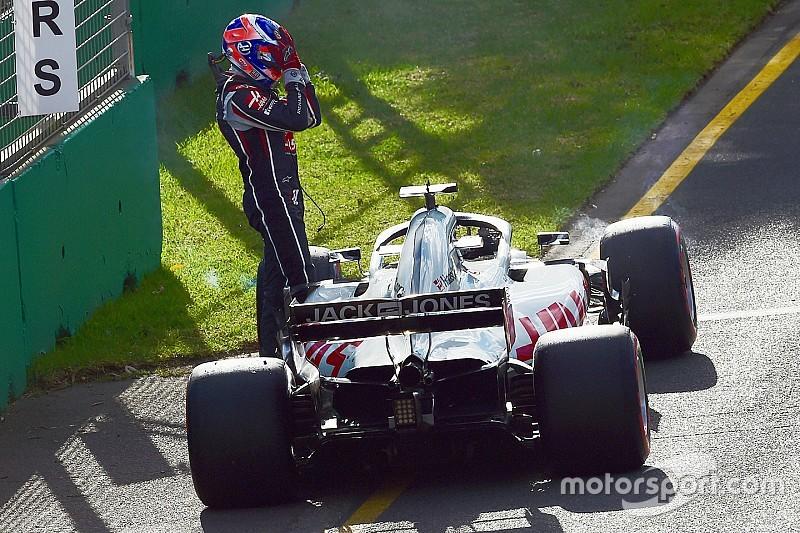 Grosjean: Il y a des erreurs que Haas ne peut plus commettre