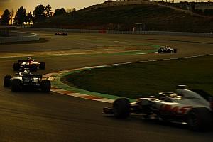 Formule 1 Diaporama Diaporama - Les meilleures photos des seconds tests de Barcelone