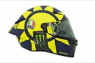GALERIA: Confira novo capacete de Rossi para 2018
