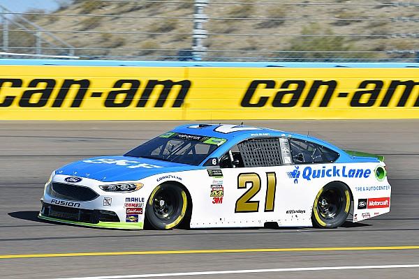 NASCAR Cup NASCAR in Phoenix: Wimpernschlag-Pole-Position für Ryan Blaney