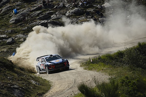 Portugal WRC: Neuville stretches out lead to 40s