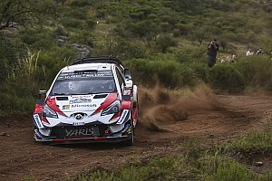 WRC Leg report Argentina WRC: Tanak doubles lead on Saturday morning