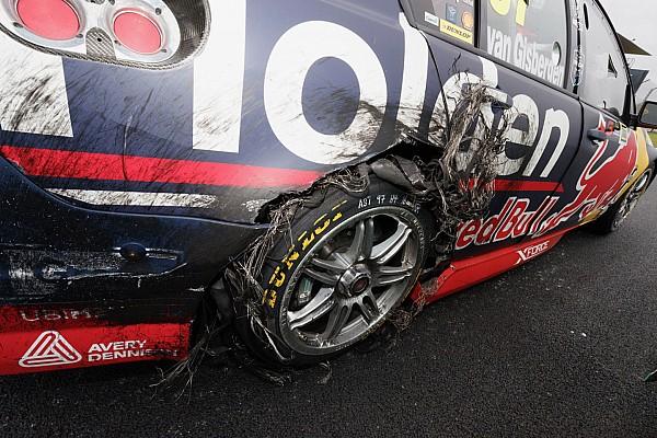 Supercars Пончики-убийцы: новозеландец так радовался победе, что повредил машину