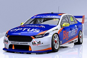 Supercars Breaking news Livery for Supercars rookie Hazelwood unveiled