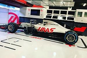 Формула 1 Новость Новая машина Haas готовится к обкатке: первое «живое» фото VF-18
