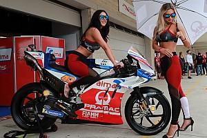 Grid girls colorem provas da Stock Car e da MotoGP
