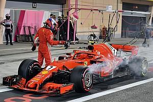 Formula 1 Breaking news Ferrari explains error that injured mechanic in Bahrain