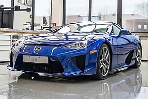Automotive Breaking news Lexus talks about how it services its own LFA