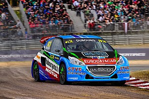 World Rallycross Breaking news Andros Trophy champion gets Peugeot World RX seat