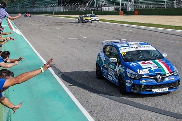 Imola, Gara 1: Sandrucci ipoteca il titolo, Jelmini è campione rookie