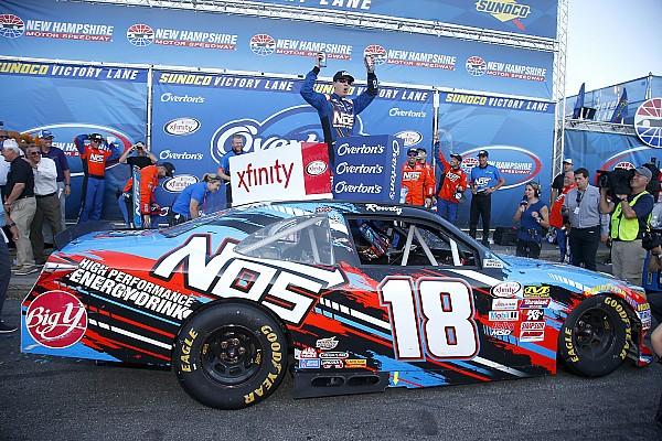 NASCAR XFINITY Após erro da equipe de Keselowski, Busch vence em Loudon