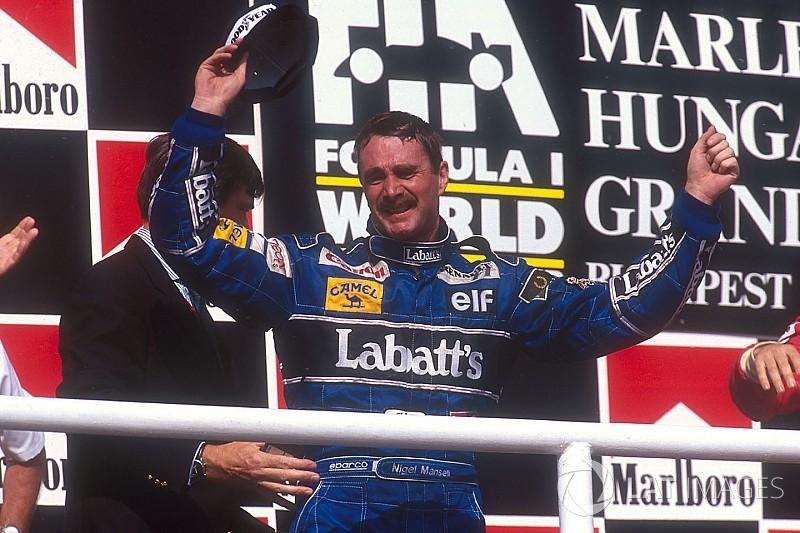 Il y a 25 ans - Le titre de Nigel Mansell