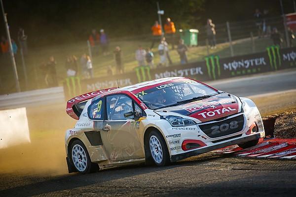 World Rallycross France WRX: Loeb heads points leader Kristoffersson on Saturday