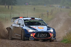 WRC Breaking news Neuville frustrated rivals couldn't keep Ogier off podium