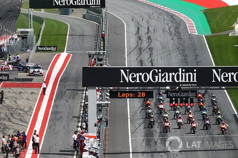 MotoGP muda horários das corridas em Silverstone