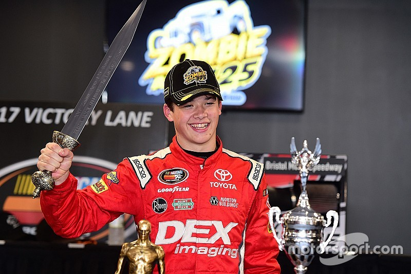 NASCAR's newest and youngest champions honored in Charlotte