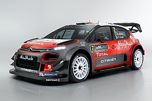 WRC Preview Citroën begins a new chapter in its sporting history with the C3 WRC