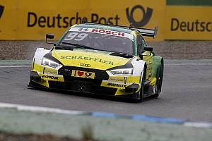 DTM Prove libere Lausitzring, Libere 1: Mike Rockenfeller guida la doppietta Audi