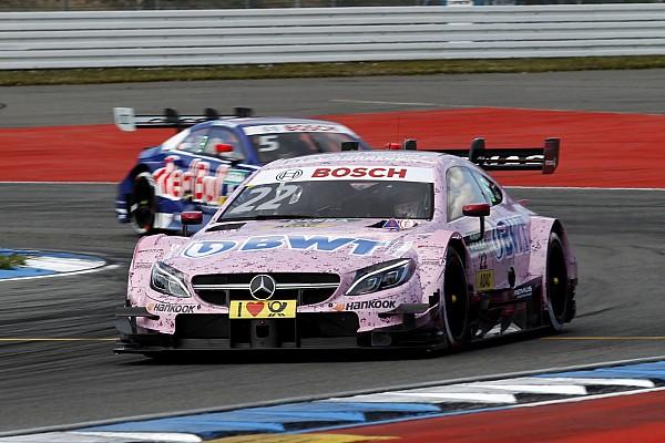 DTM Hockenheim DTM: Auer leads Mercedes 1-2-3 in first qualifying