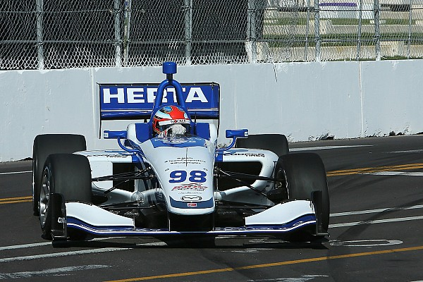St Pete Indy Lights: Herta claims brilliant pole for Race 2