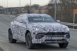 Auto Actualités Spyshots - Le Lamborghini Urus livre quelques secrets