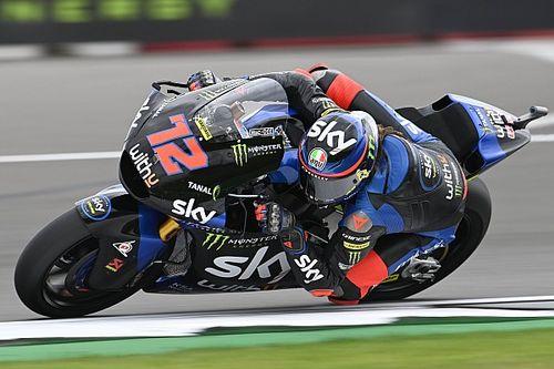 Moto2 Silverstone: Bezzecchi, tur rekorunu kırarak pole pozisyonunun sahibi oldu