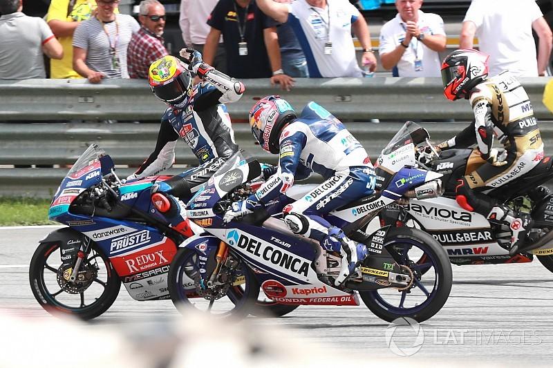Fotogallery: la festa è tricolore in Moto3 al Red Bull Ring con Bezzecchi e Bastianini