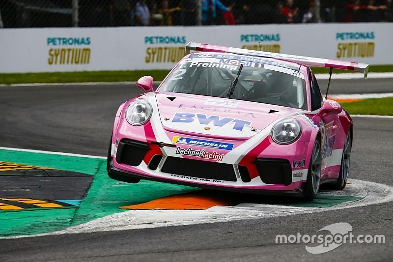Porsche-Supercup: Porsche-Junior Preining gewinnt in Monza