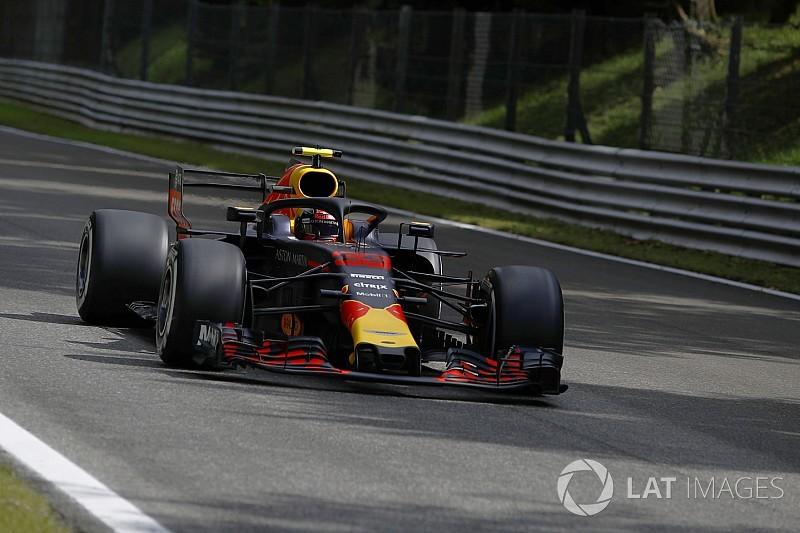 Red Bull in Monza irgendwo im Nirgendwo