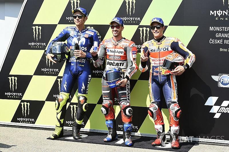 La parrilla del Gran Premio de la República Checa