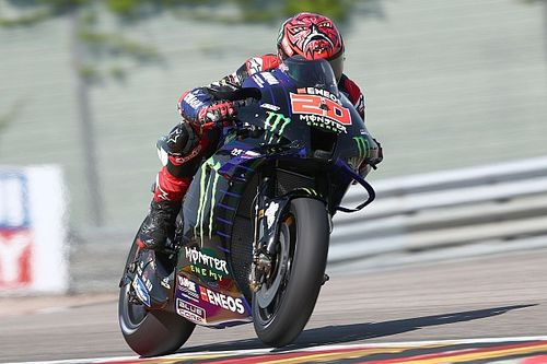 German MotoGP: Quartararo tops FP3, Vinales to Q1