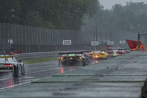 GT Italiano, Monza: Gara 1 rinviata a domenica per pioggia