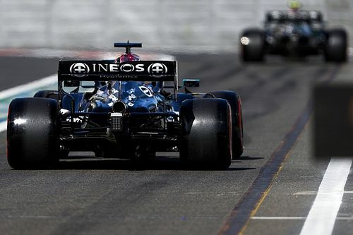 Mercedes : le choix d'aileron arrière revient aux pilotes