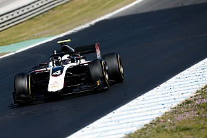 Nyck de Vries topt derde F2-testdag in Barcelona