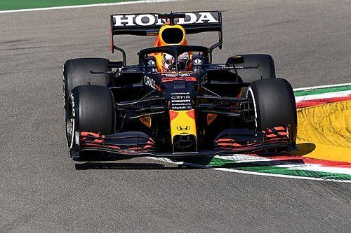 Verstappen manda en la 3° práctica de Imola y Sergio Pérez es 4°