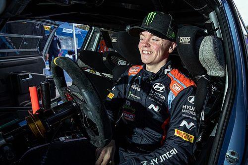 Oliver Solberg retrouvera la Hyundai WRC en Sardaigne