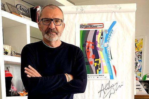 Imola: ecco il poster ufficiale del GP realizzato da Aldo Drudi