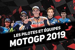 Découvrez les pilotes du MotoGP pour la saison 2019