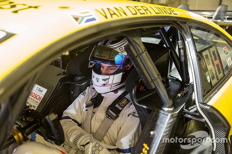 Rookie van der Linde completes BMW's DTM roster