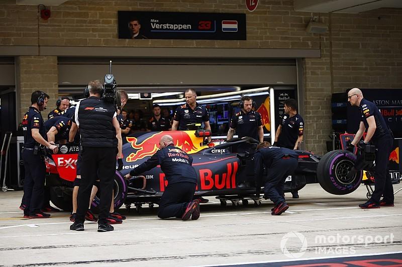 Ricciardo avait été averti d'éviter le vibreur heurté par Verstappen