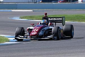Van Kalmthout haalt vertrouwen uit Indy Lights-zege: