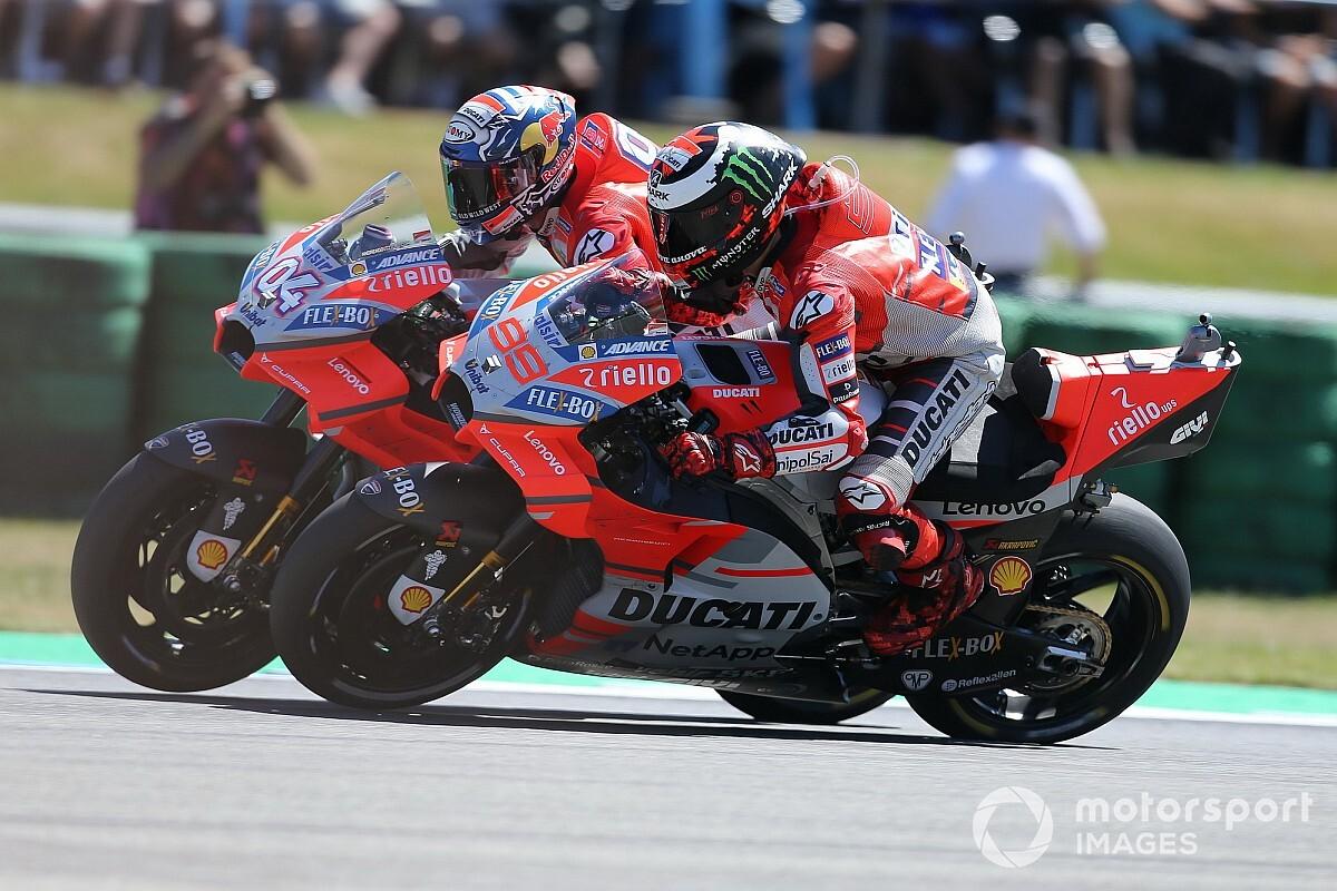 Ducati wil om tafel met Dovizioso en Lorenzo na aanvaring in Sepang