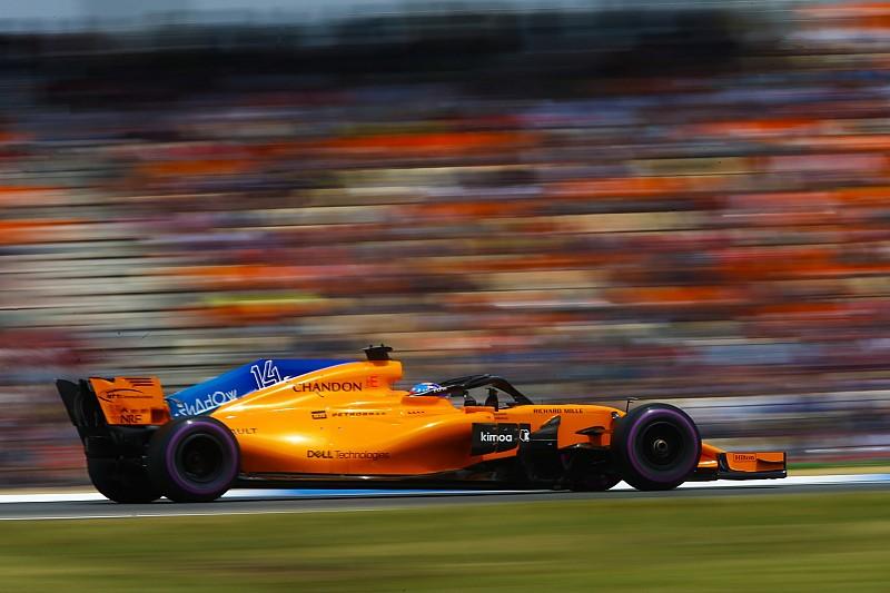 Alonso: McLaren puan alabilecek hızda değildi